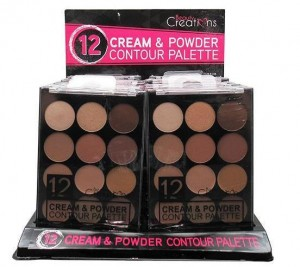 12 Color Cream Powder Contour Palette